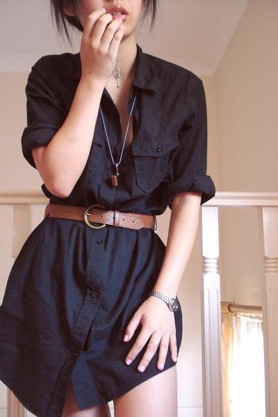 Easy DIY: a shirt- dress | Puritonical pomposity